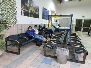 Loc de joacă în aeroportul Ovda