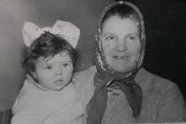 Cu bunica Chilina.